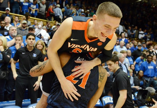 ACC powers Virginia, Duke and North Carolina all grabbed No. 1 seeds in the NCAA tournament.