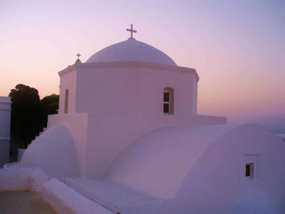 The Monastery of Tachiarches, built in 1572 and dedicated to archangels Michael and Gabriel, is a must-visit of Serifos.
