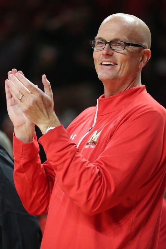 Ncaa Basketball Purdue At Maryland