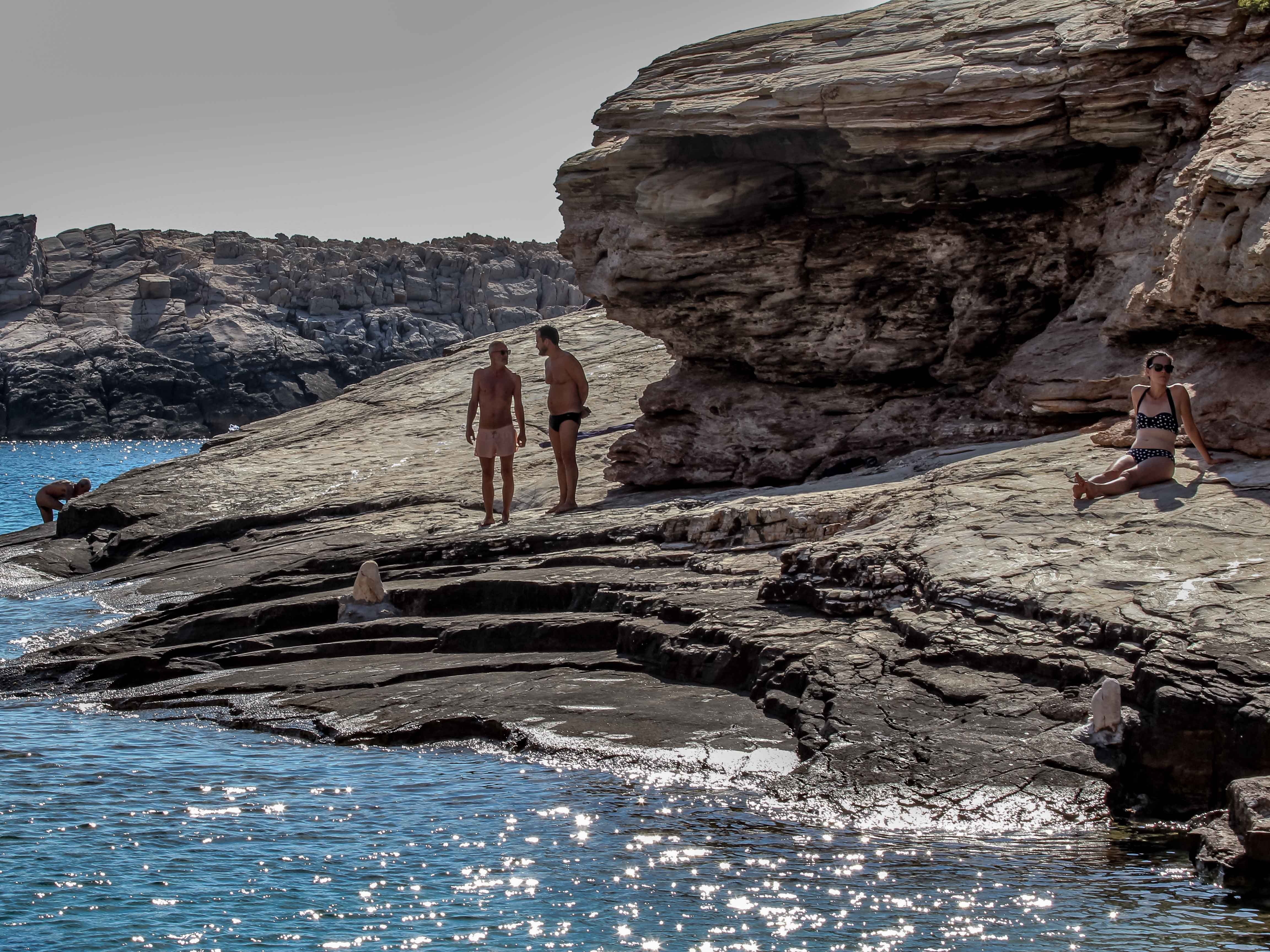 While not attracting the throngs of tourists who visit more popular islands in the Cyclades, this tiny gem filled with warm, secluded coves is excellent for soaking up the sun and swimming.
