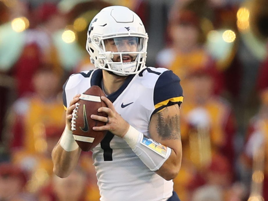 West Virginia Mountaineers QB Will Grier will not be playing in the Mountaineers' bowl game vs. Syracuse.