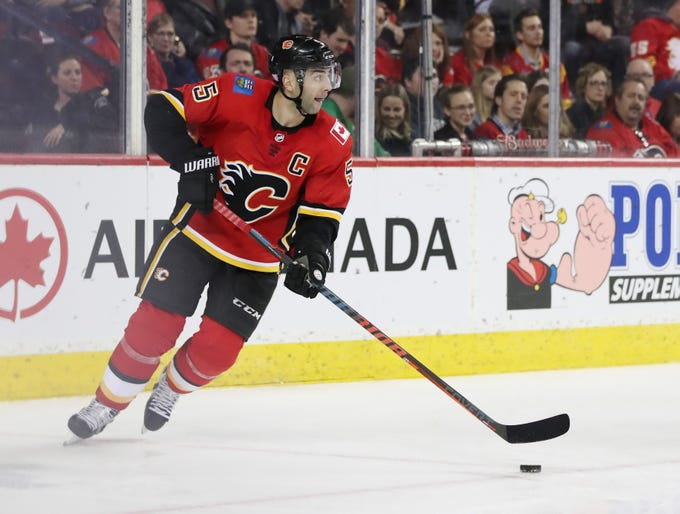 Dec. 6: Calgary Flames defenseman Mark Giordano was suspended two games for a knee-on-knee hit on Minnesota Wild captain Mikko Koivu. Lost pay: $72,580.64.