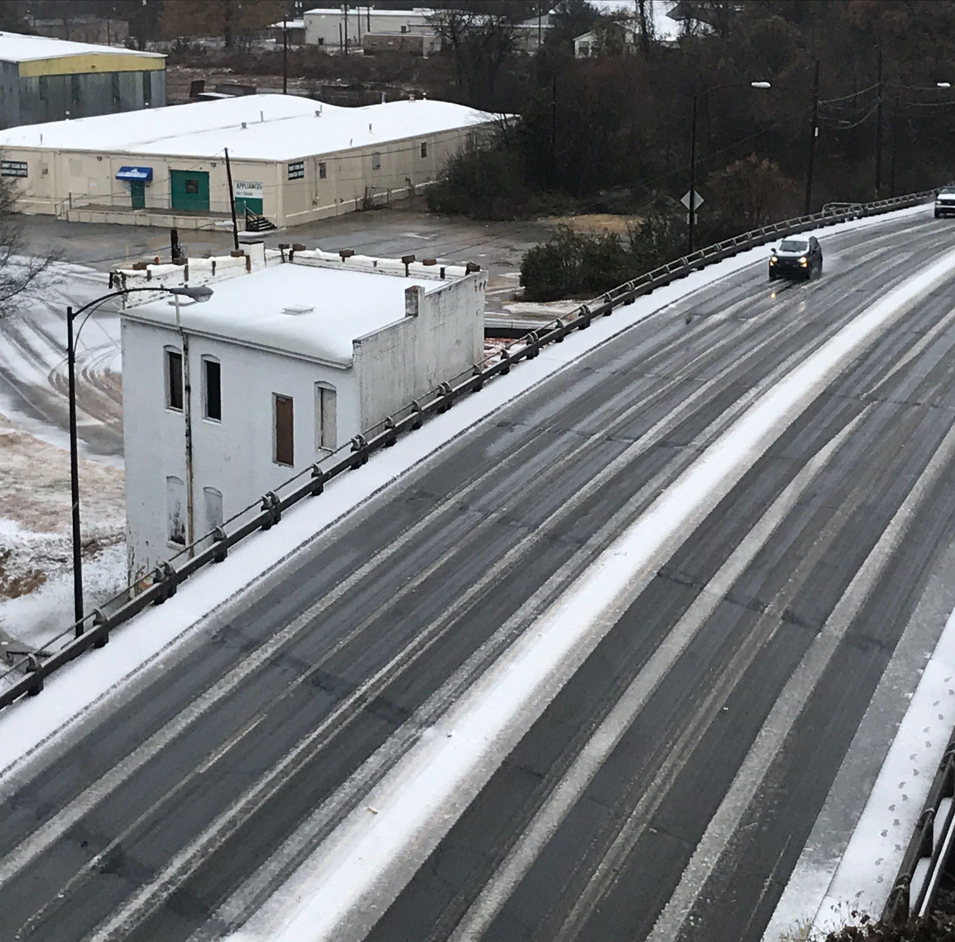 Winter storm: Warning downgraded for Anderson as thousands remain without power
