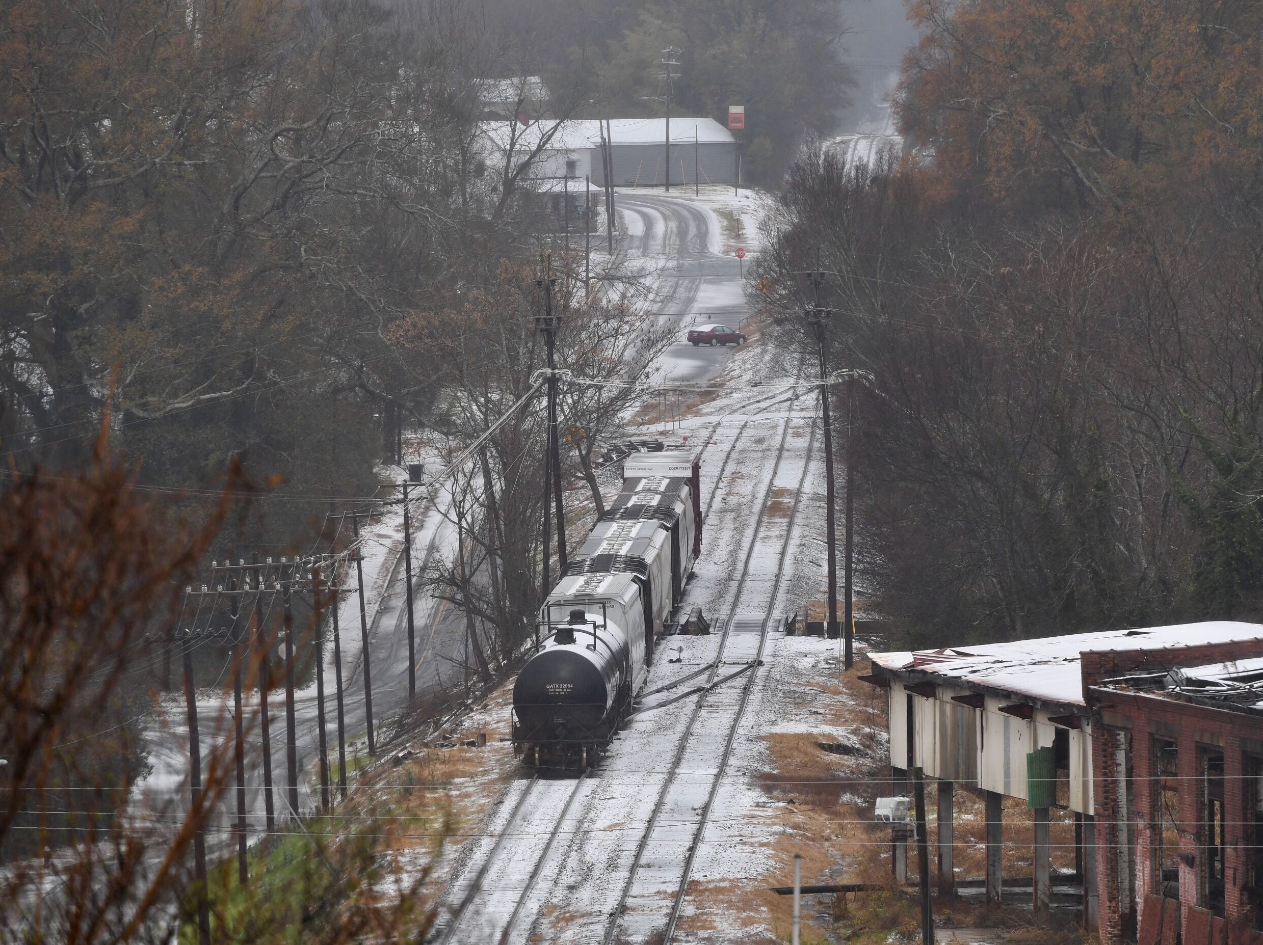 Pickens Railroad on Sunday, Dec. 9, 2018.