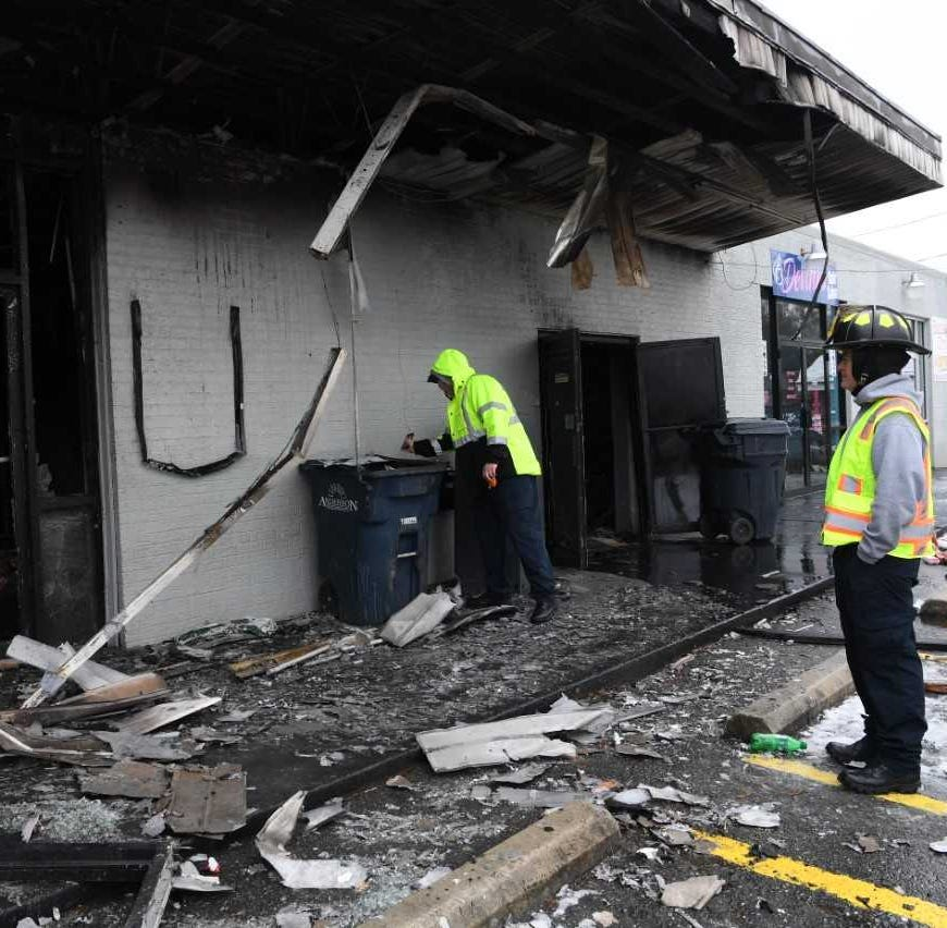 Cause of fire that damaged Anderson convenience store under investigation
