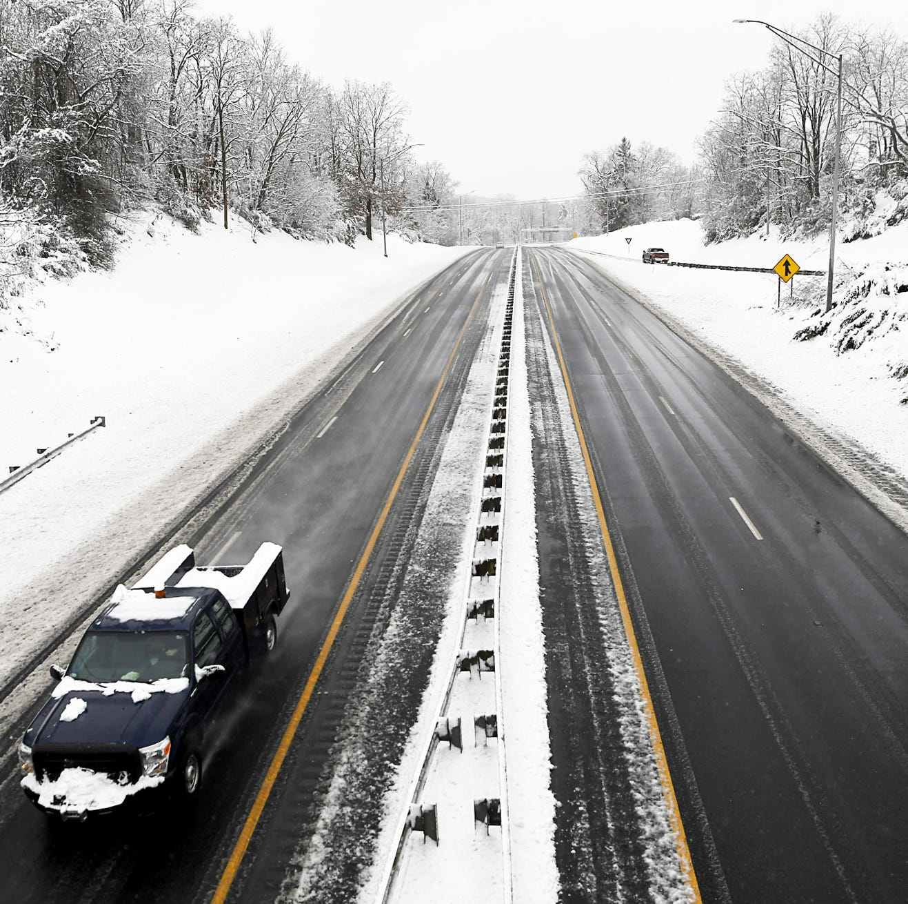 Road conditions after Asheville, WNC snow storm: NCDOT says mostly clear