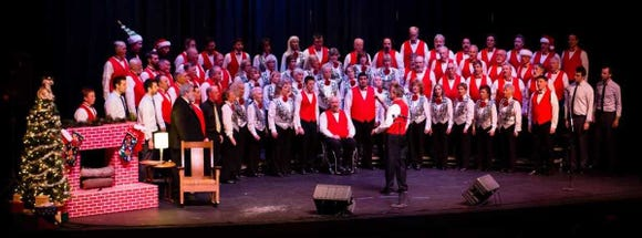 "West Sound Chorus' holiday program, ""Night of Noel 1959,"" has performances Dec. 15 and 16 at the North Kitsap Community Auditorium in Poulsbo."