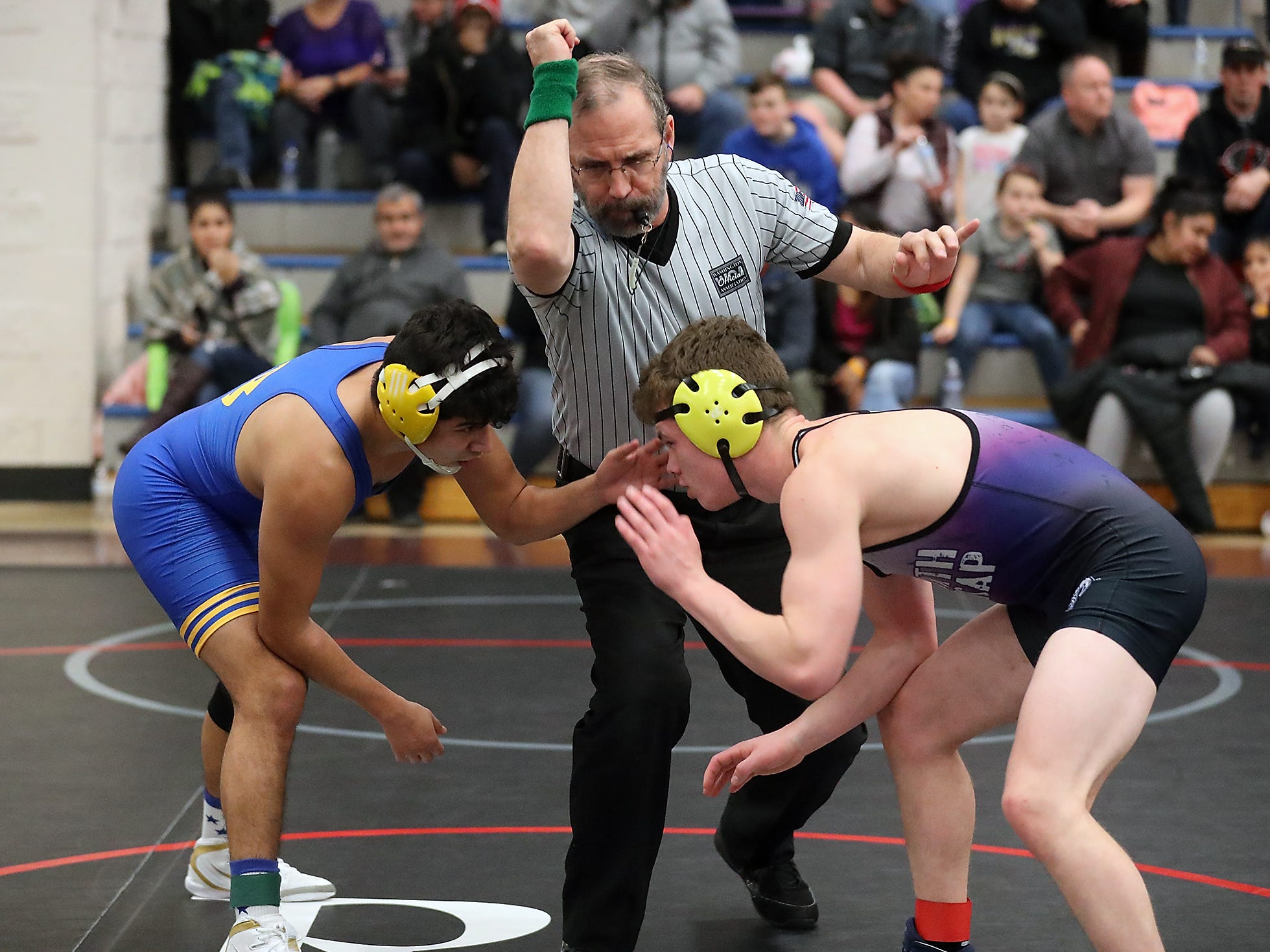 Olympic Duals at the Kitsap Sun Pavilion in Silverdale on Saturday, December 8, 2018.