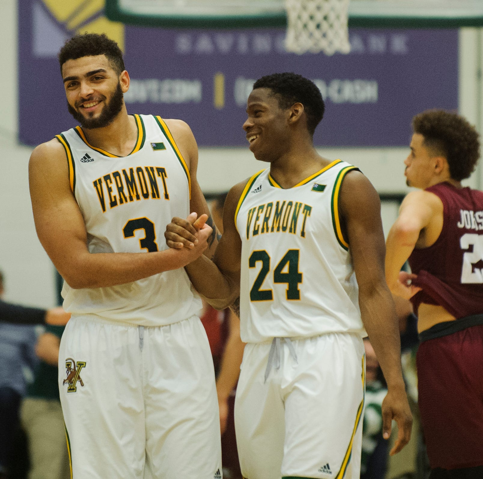 Lamb roars to career-high 37 points, UVM basketball rallies past Harvard