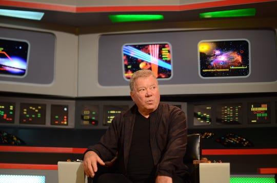 William Shatner returns to his Star Trek roots at the Original Series Set Tour in Ticonderoga, New York, Dec. 8, 2018.