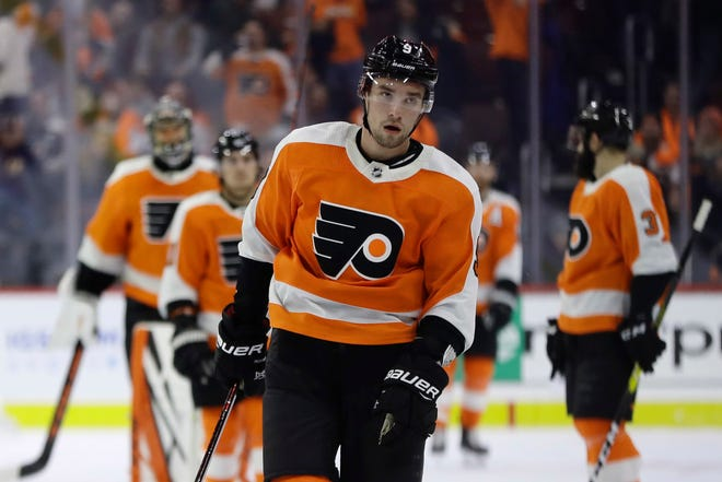 Ivan Provorov's third season hasn't been as steady as his first two. The Flyers still utilize him as their No. 1 defenseman and that won't change.