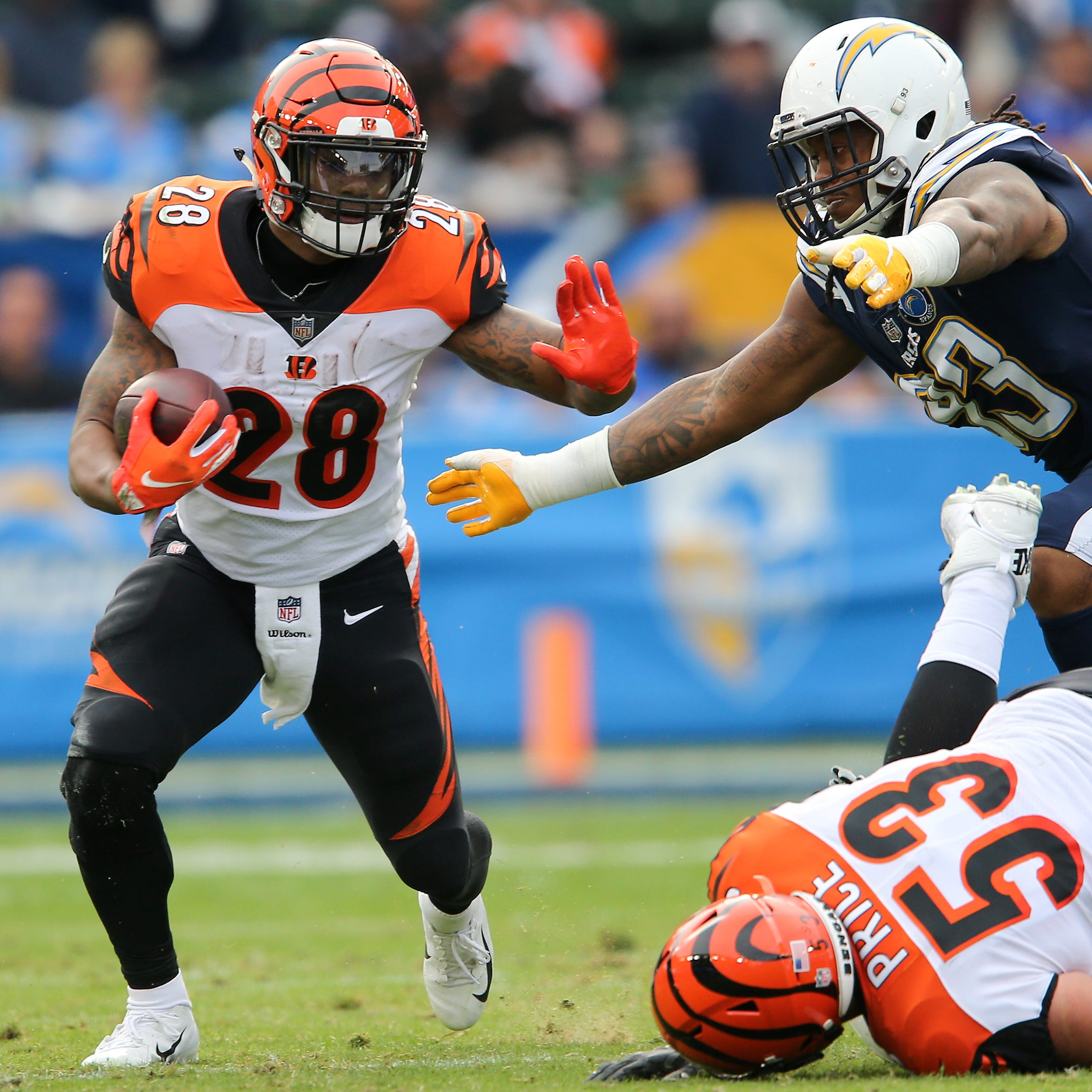 Final: Los Angeles Chargers 26, Cincinnati Bengals 21