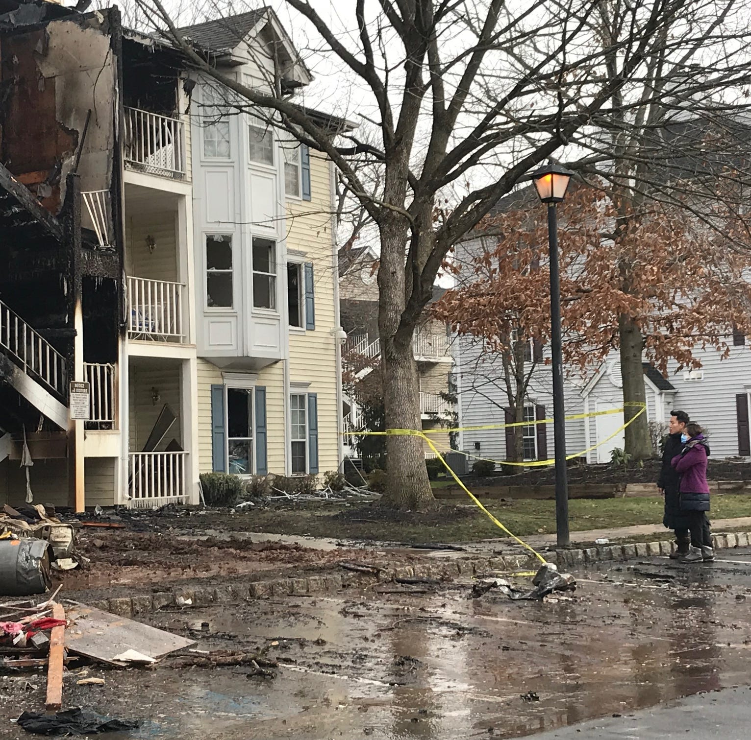 North Brunswick fire displaces 28; several, including dog, rescued