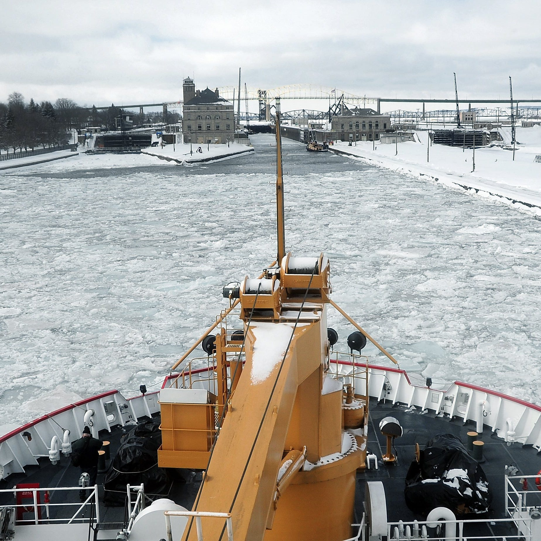 Federal grant to help repair dock near Soo Locks