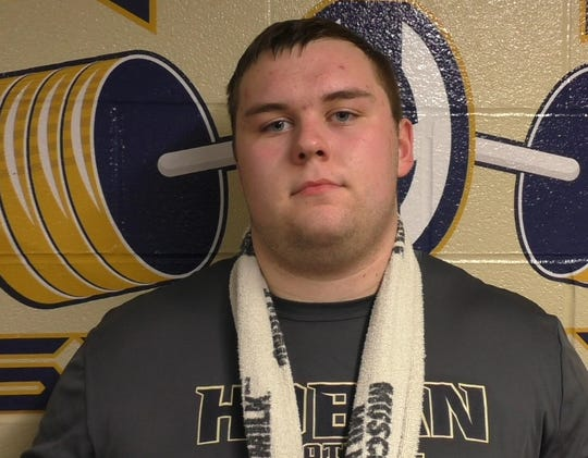 Akron (Ohio) Archbishop Hoban offensive lineman Nolan Rumler