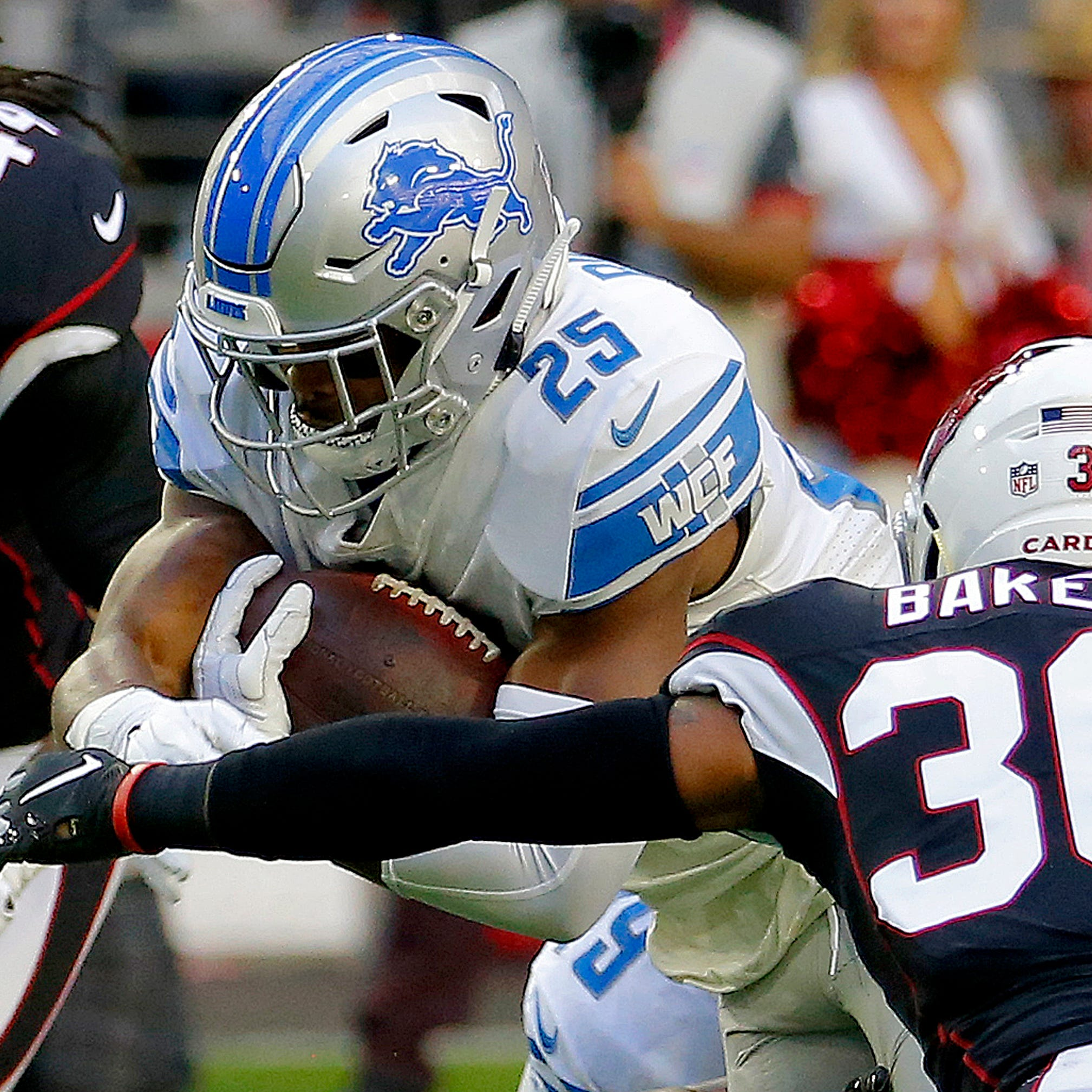 Comparing contracts of Detroit Lions' backup RBs: Who's in line to be No. 2?
