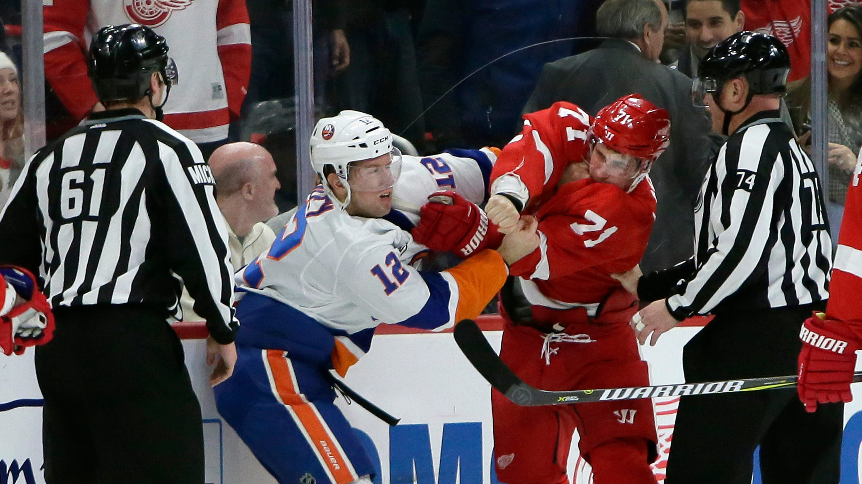 40ce1e67e39 Dylan Larkin fighting benefits the Detroit Red Wings. Here s why