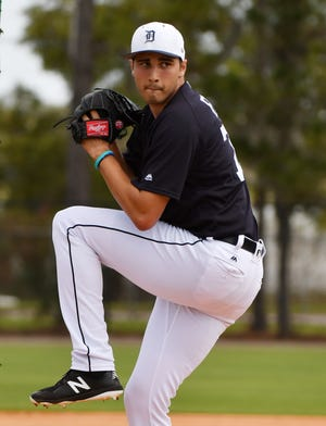 Tigers pitcher Alex Faedo