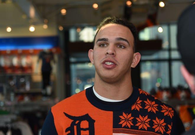 Detroit Tigers prospect Franklin Perez