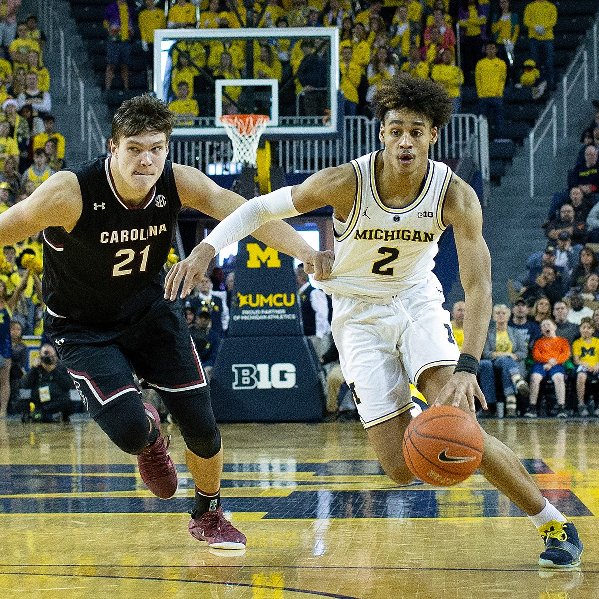 UM's Jordan Poole grows into role, out of slow start