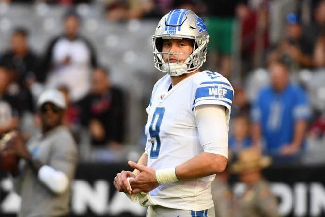 Given Matthew Stafford's large contract, the Lions might shop for a backup QB in the draft.