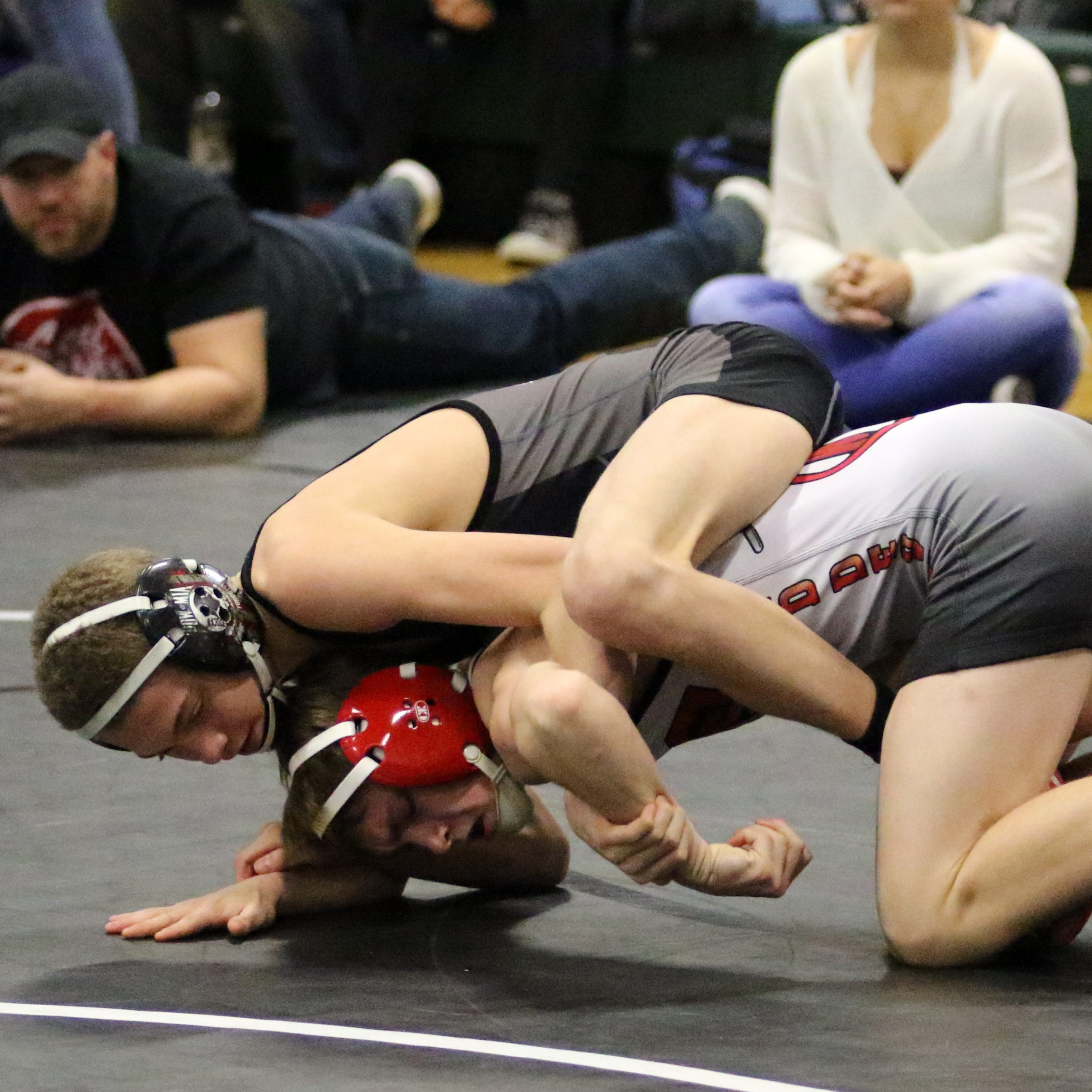 Express wrestlers make it five straight at own tournament