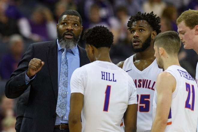 The Evansville Purple Aces are 6-7 at the unofficial midway point during head coach Walter McCarty's first season.