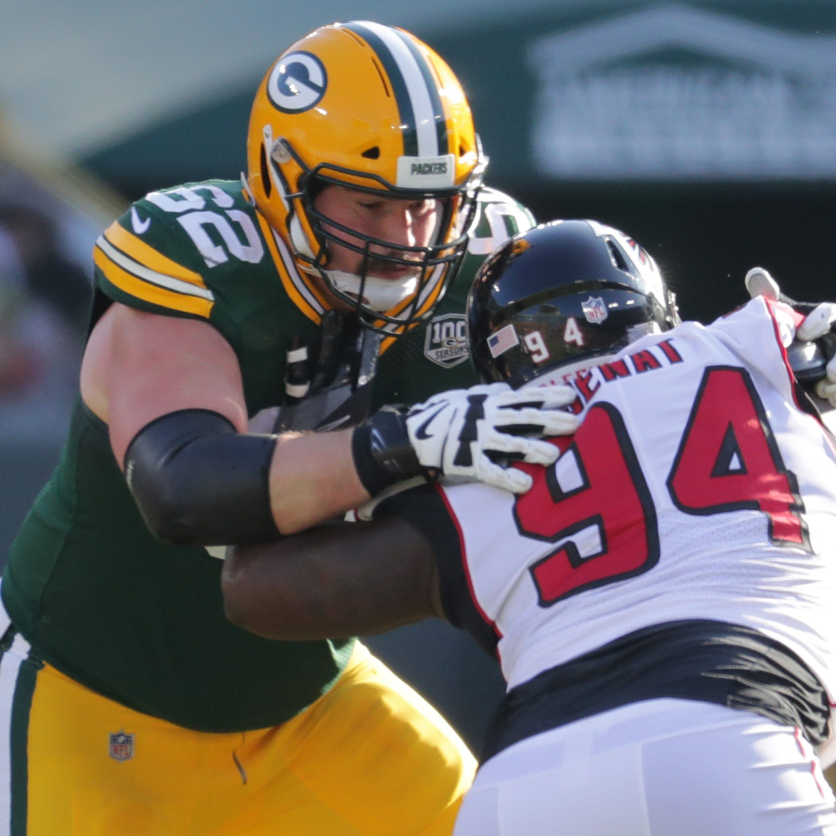Packers' backup offensive linemen draw on past experience to find chemistry