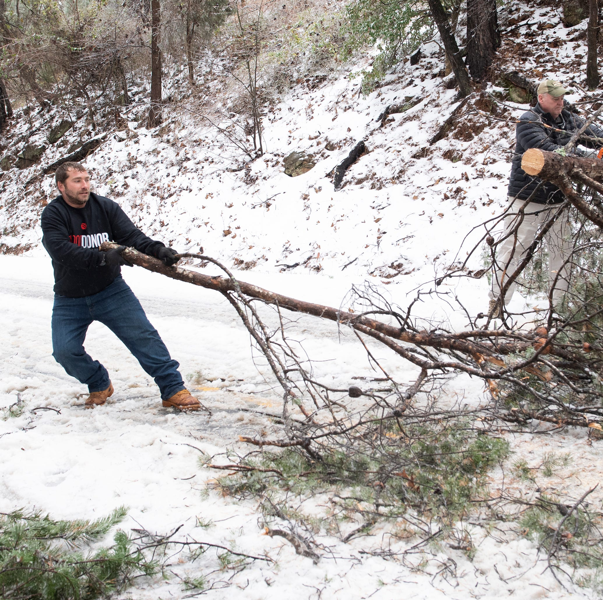Thousands still without power Monday, and more outages are possible