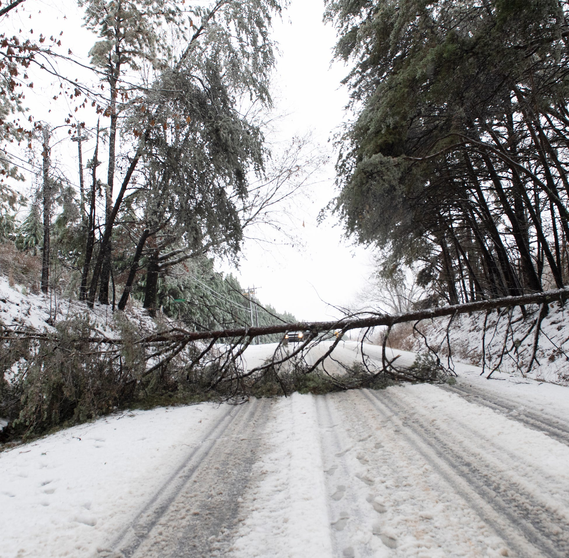 Winter weather in Greenville: Where the hazardous road conditions are right now