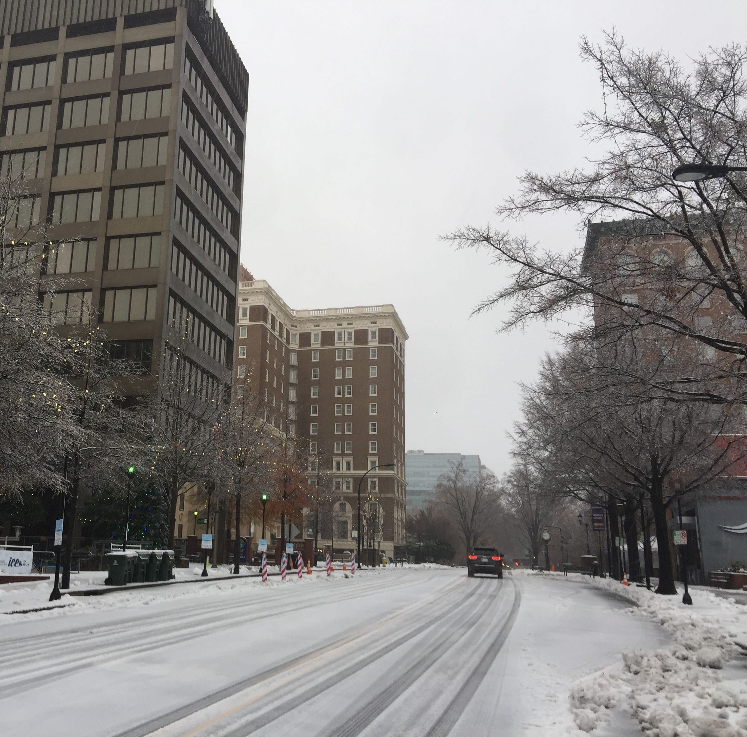 Here's a look at businesses that are open and closed Monday amid winter weather