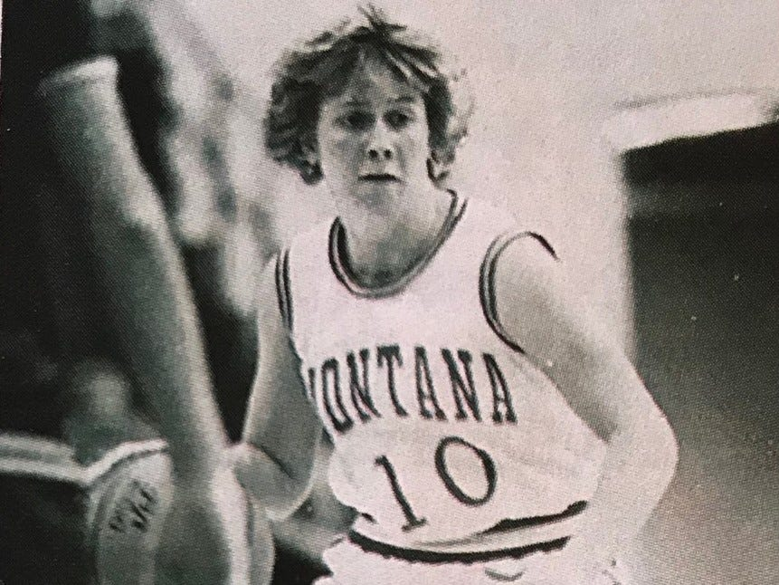Former Big Sandy standout Shannon Green, from a picture on the cover of the Montana Lady Griz program in the early 1980s. Green died in an auto accident in August, 1981.