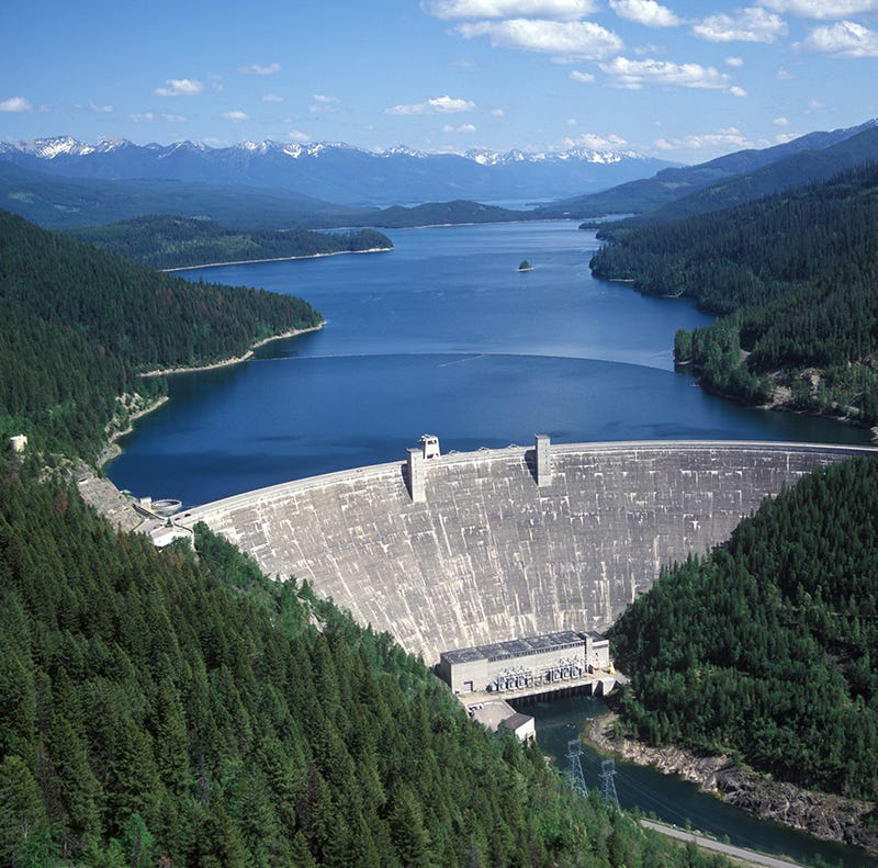 Overhaul planned for Hungry Horse Dam in northwest Montana
