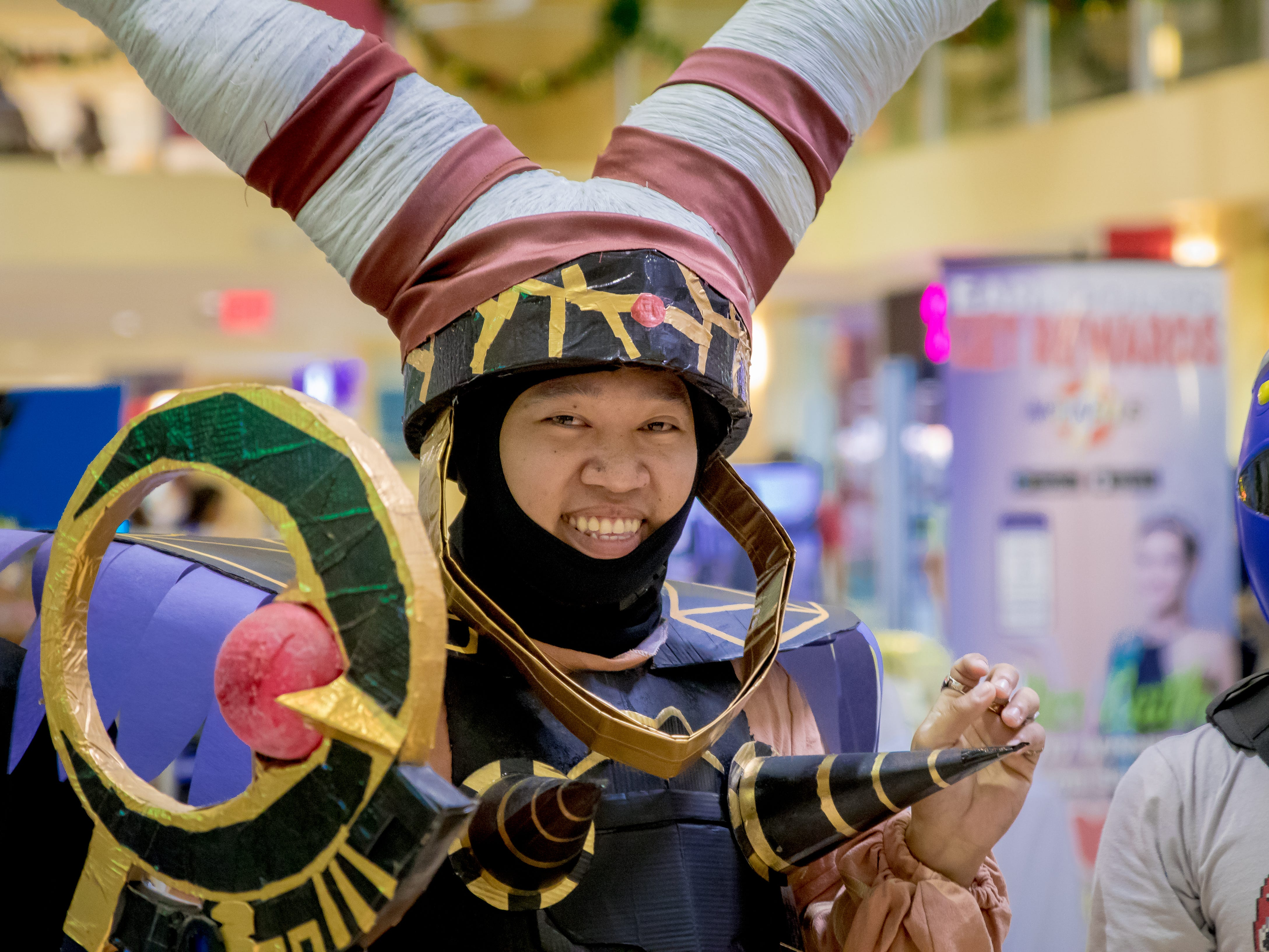 Cosplayers show off their characters during the Herocon event held at Agana Shopping Center on Dec. 9.