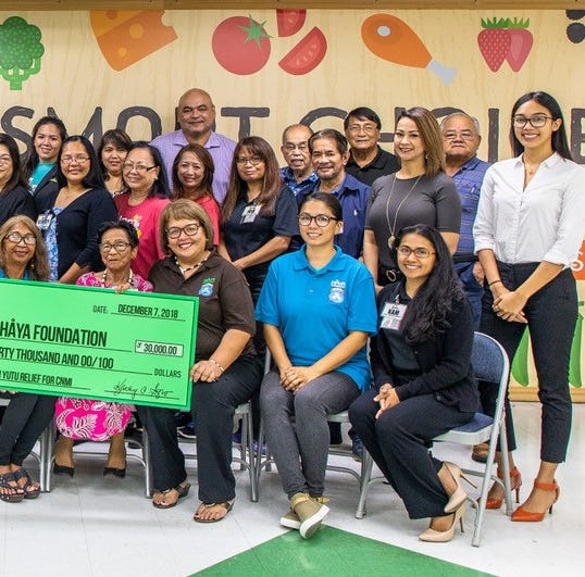 Pay-Less Community Foundation donates $30k for CNMI Super Typhoon Yutu relief