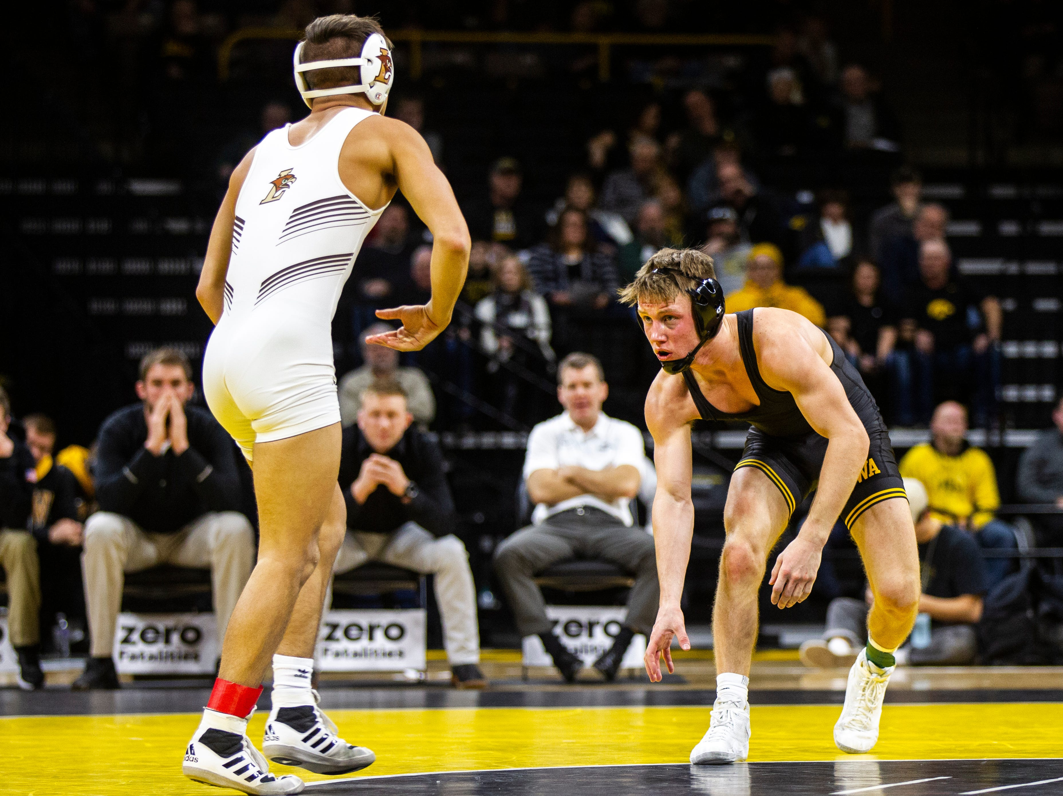 'He leads with his face': Iowa's Max Murin looks to continue solid start against Minnesota