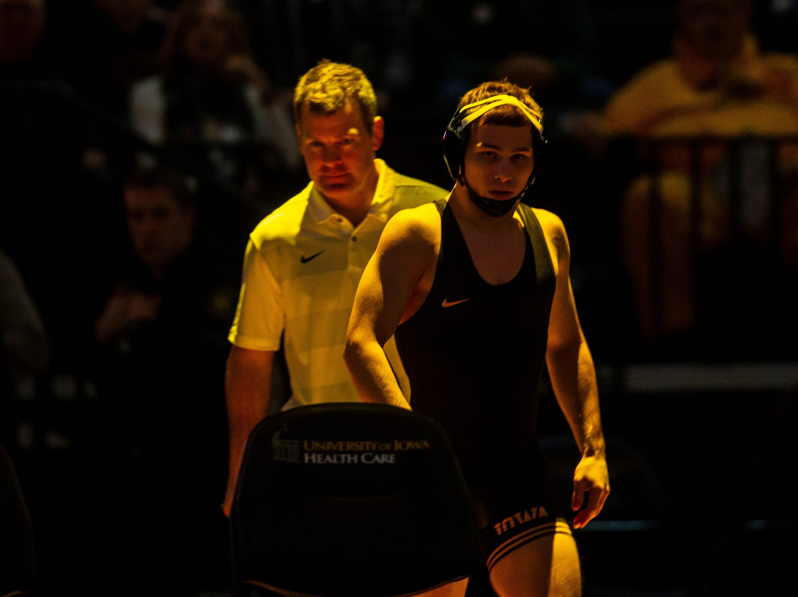 Photos: Iowa Hawkeyes wrestling vs. Lehigh Mountain Hawks