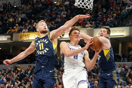Nba Sacramento Kings At Indiana Pacers
