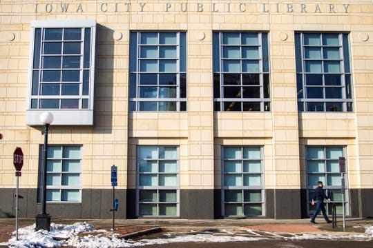 Iowa City Public Library is seen on Friday, Nov. 30, 2018, at 123 South Linn Street in downtown Iowa City.