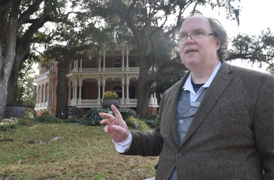 Curator Jim Wade talks about the history of Longwood in Natchez where the Civil War ended construction of what would have been the city's grandest mansion.
