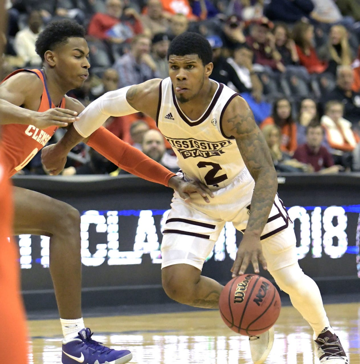 Mississippi State's three-point barrage buries Clemson in Never Forget Tribute Classic