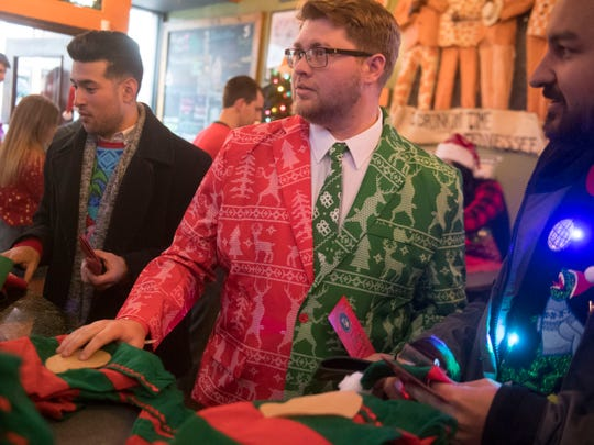 Break out the worst of your holiday wardrobe for the ugly sweater contest at Rooster's on Dec. 22.