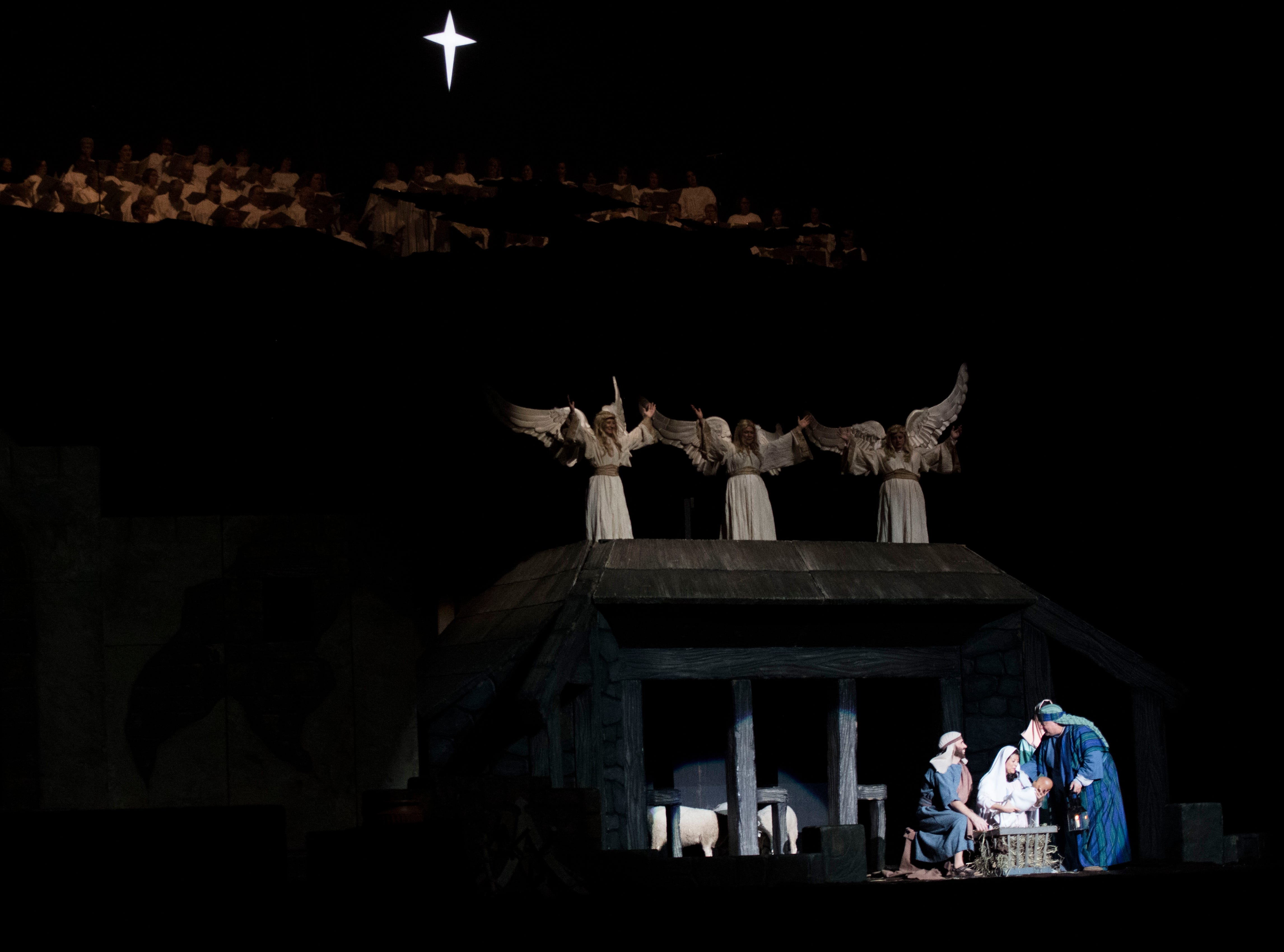Scenes from the annual Knoxville Nativity Pageant at the Civic Coliseum Saturday, Dec. 8, 2018.