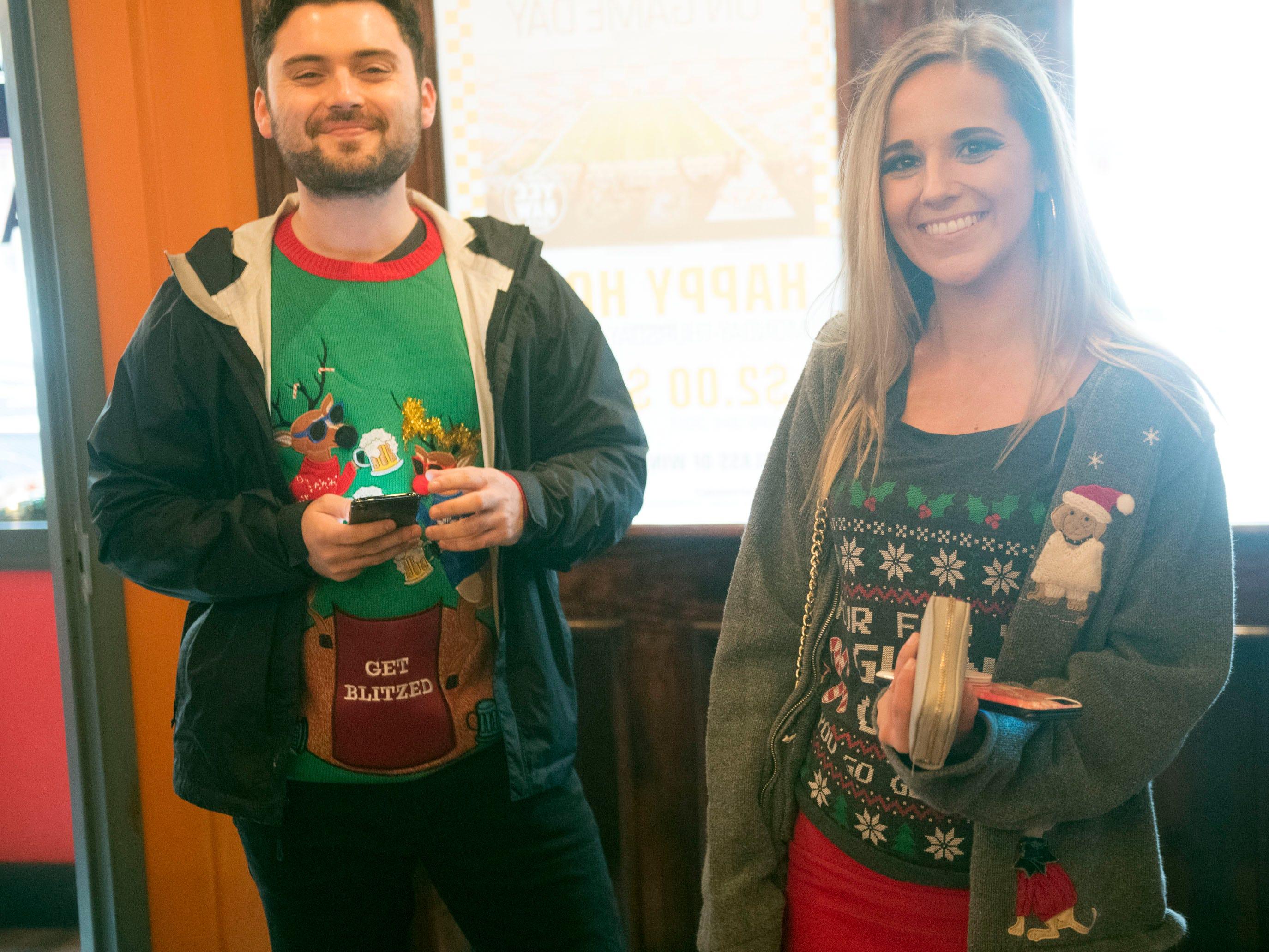 Bar Crawl USA hosts the Ugly Sweater Bar Crawl starting at Skybox Sports Bar & Grill on Saturday, December 8, 2018.