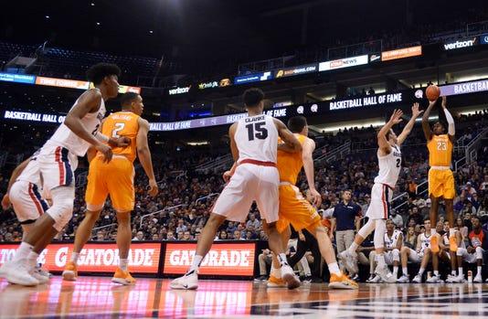 Ncaa Basketball Gonzaga At Tennessee