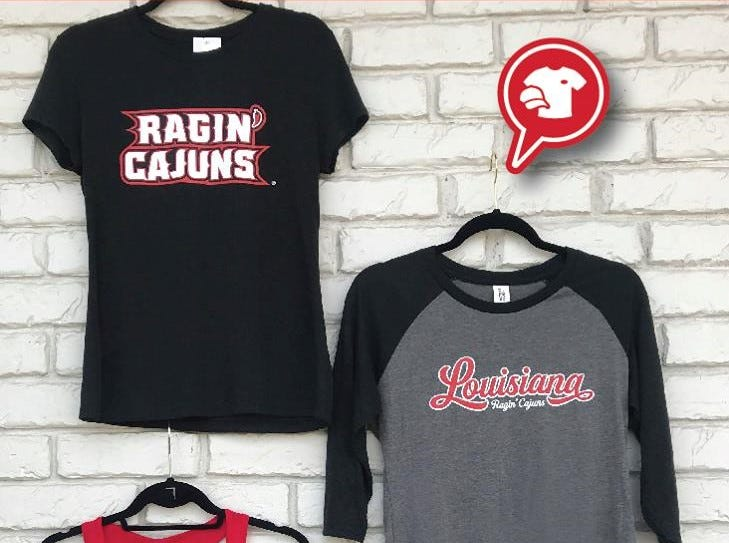 UL women's t-shirts sold at Absolutely Custom Apparel & Graphics