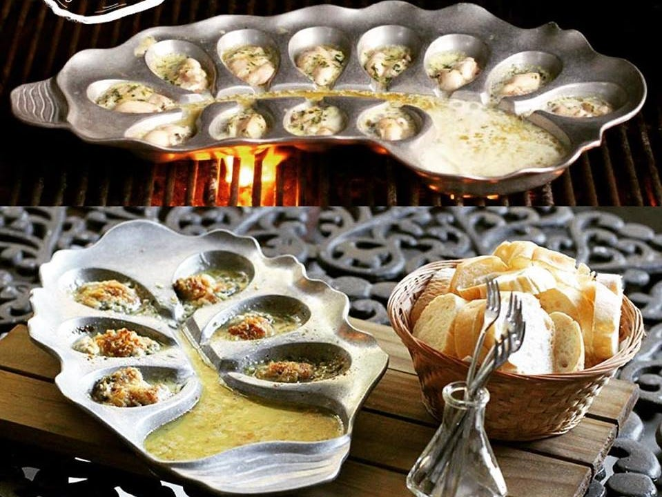 Oyster tray sold at Caroline and Company