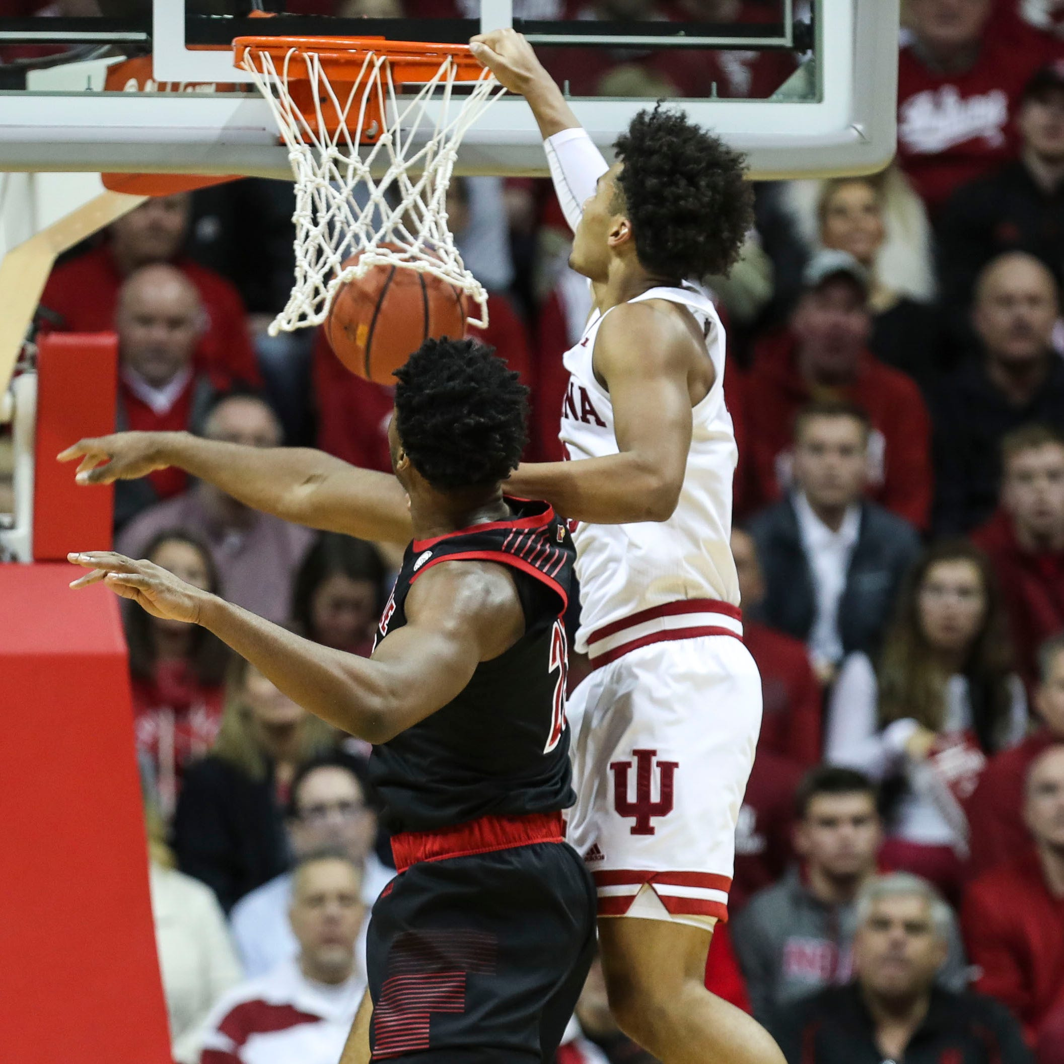 Louisville basketball's loss at Indiana leaves room for growth