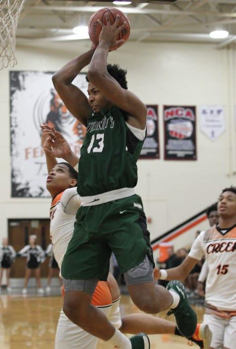 Trinity at Fern Creek basketball