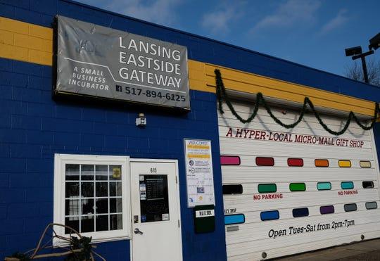 The Lansing Eastside Gateway opened in October at 615 E. Kalamazoo Street in Lansing.